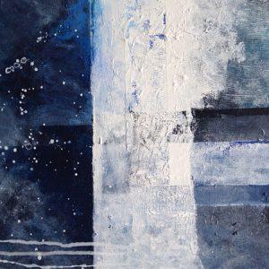 Tavla i akryl av Gertrude Appelqvist