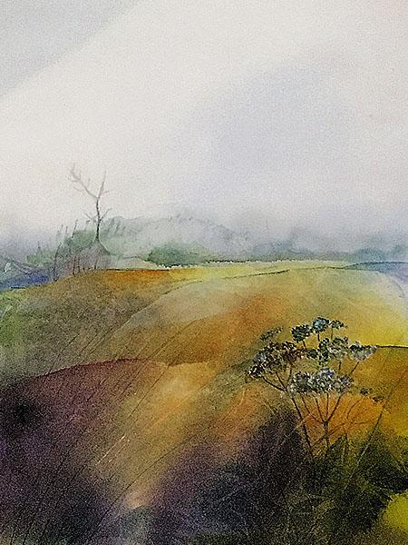 Akvarell av Lilian Olsson