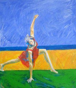 Dans i akryl av Dimitris Karvelas