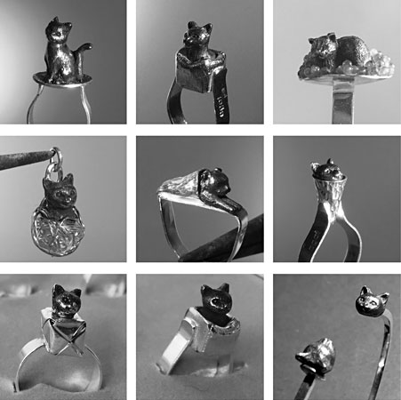 Katter i silver av Anna Tillas
