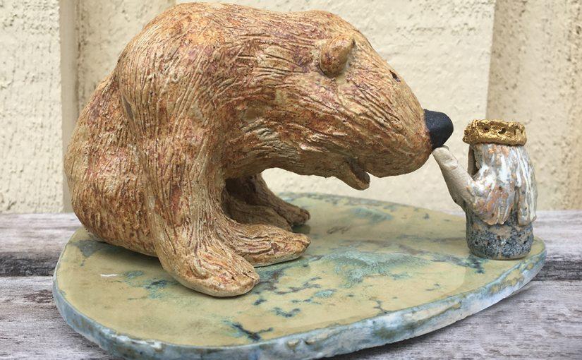 Skulptur av Monica Benbasat