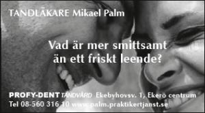 Tandläkare Mikael Palm