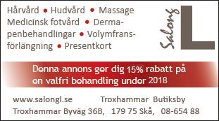 """Salong L är medlemmar i Frisörföretagarna (SFF) och Sveriges Hudterapeuters Riksorganisation (SHR). Utnämnda av Europa kommissionen i Haag till """"En utmärkt frisör""""."""