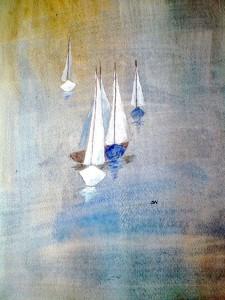Båtar 2, av Siv Norman