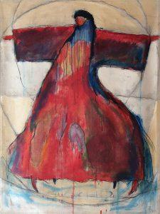 Målning av Lennart Magnusson