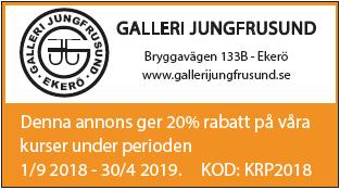 Galleri Jungfrusund, f.d. Hantverkstallet öppnar i ny regi! Öppet fredag, lördag och söndag,