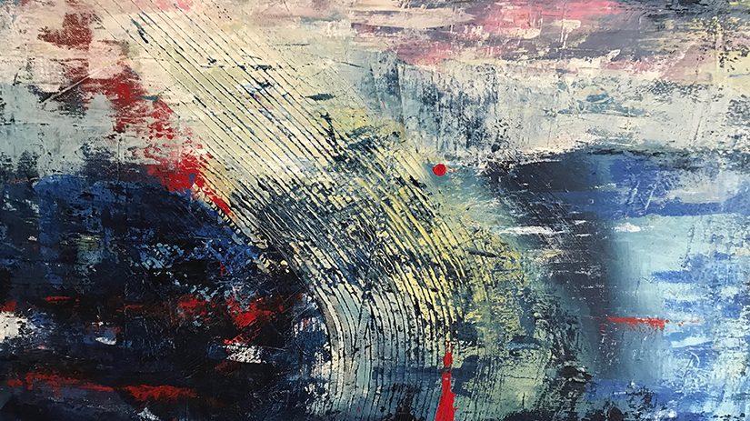 Målning av Marie Engström