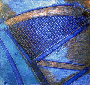 Sommaren2015-3, akvarell av Elisabeth Wallen