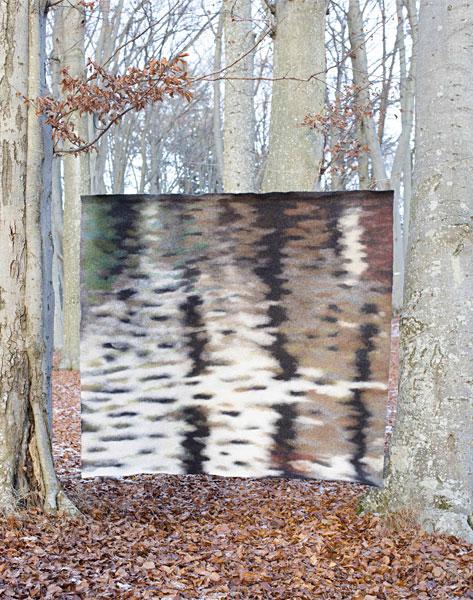 Stammar i textil av Ane Svanheden