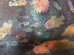 Under ytan i akryl av Chanette Roihjert