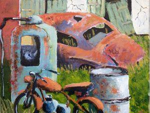 Skrotbilen av Tomas Lampell