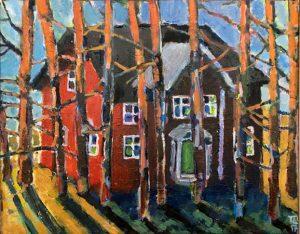 Huset av Tomas Lampell
