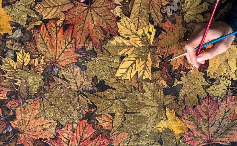 Joy Davis AutumnMapleLeaves